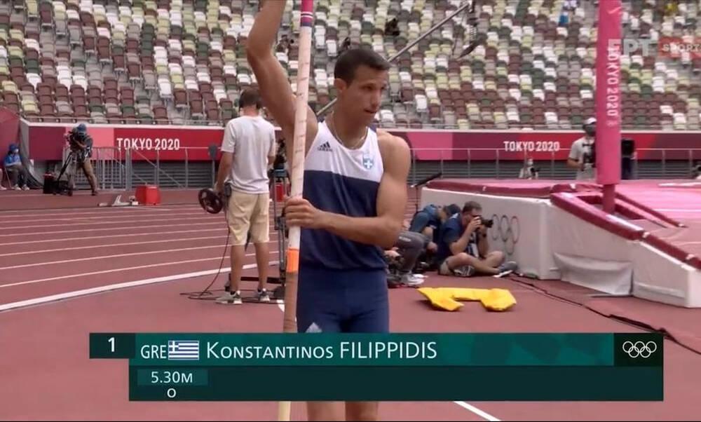 Ολυμπιακοί Αγώνες-Στίβος: Εκτός τελικού ο Φιλιππίδης (video)