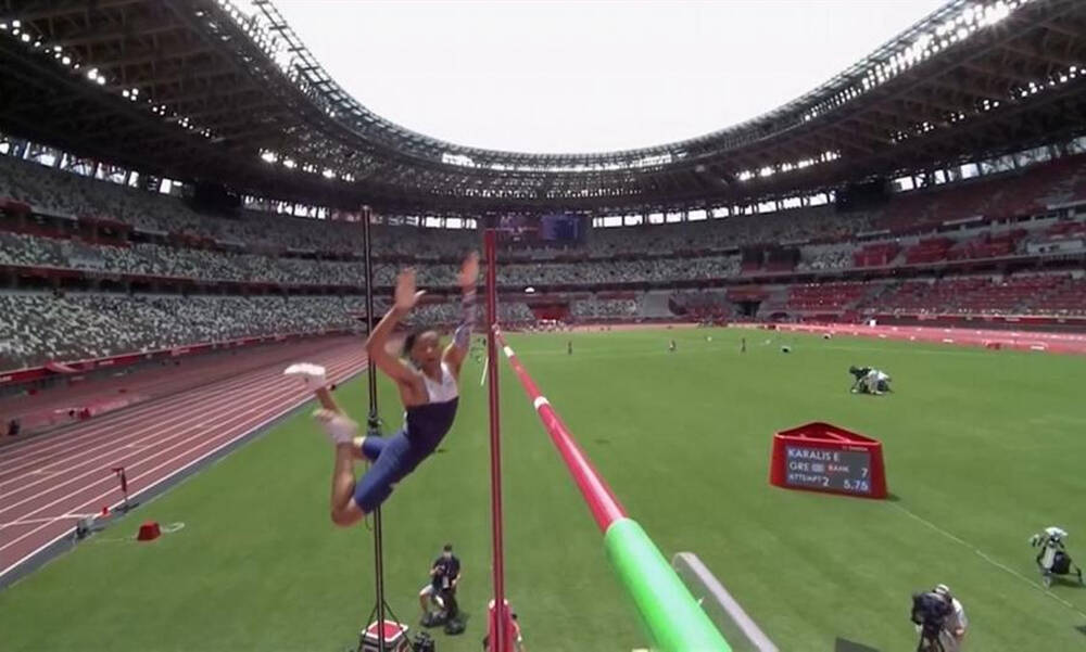Ολυμπιακοί Αγώνες-Στίβος: «Πέταξε» στον τελικό ο Καραλής (video)