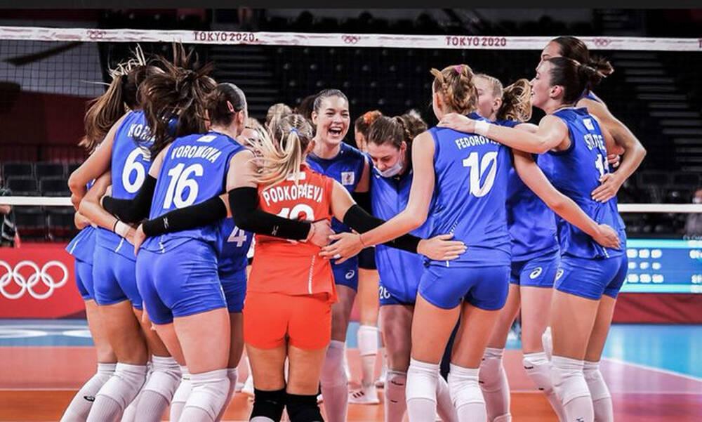 Ολυμπιακοί Αγώνες-Βόλεϊ γυναικών: Άνετη νίκη της Ρωσίας επί των ΗΠΑ με... 26άρα Γκοντσαρόβα
