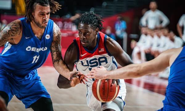 Ολυμπιακοί Αγώνες - Μπάσκετ Ανδρών: «Πέρασε» αλώβητη από τους Τσέχους η Team USA (photos&videos)