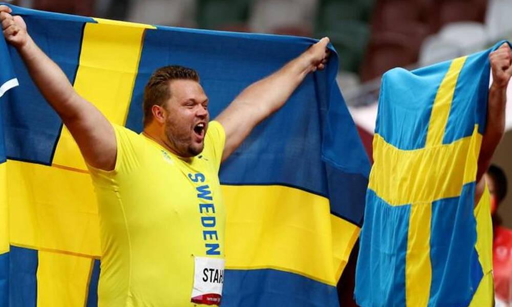 Ολυμπιακοί Αγώνες: Σουηδικό πάρτι στη δισκοβολία – Χρυσό ο Στολ