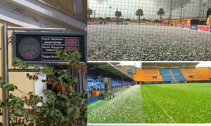 Απίστευτο και όμως αληθινό - Στην Ελλάδα καύσωνας, στην Ισπανία χαλάζι (video+photos)