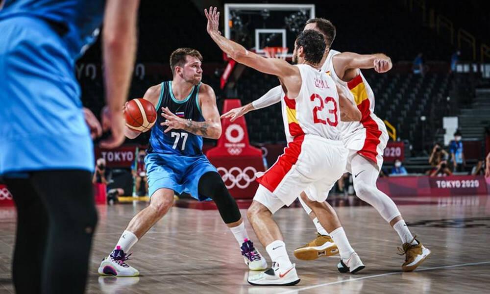 Ολυμπιακοί Αγώνες-Μπάσκετ: Τσάκισε την Ισπανία και πήρε την πρωτιά η Σλοβενία (video)