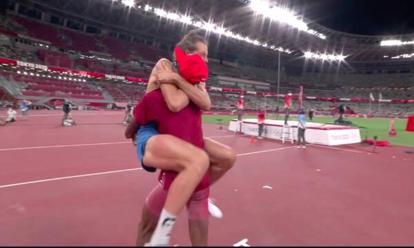 Ολυμπιακοί Αγώνες: Μαγικός τελικός στο ύψος, μοιράστηκαν το χρυσό δύο αθλητές! (video+photos)