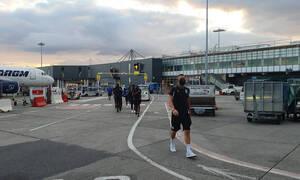 ΠΑΟΚ: Προσγειώθηκε στο Δουβλίνο ο «Δικέφαλος» για τη μάχη με την Μποέμιαν (photos)