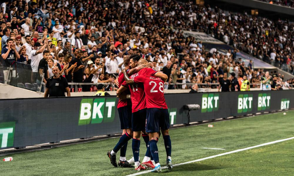 Κατέκτησε το Super Cup Γαλλίας η Λιλ, στραπάτσο από την αρχή για την Παρί Σ.Ζ. (photos)