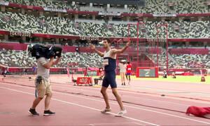 Ολυμπιακοί Αγώνες: «Πέταξε» στο χρυσό με τρομερό άλμα ο Τεντόγλου (videos)