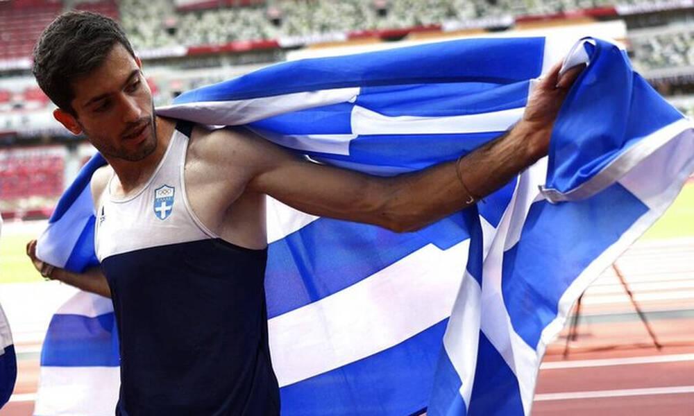 Ολυμπιακοί Αγώνες-Μητσοτάκης: «Μαζί με τον Τεντόγλου πέταξε όλη η Ελλάδα, πιο μακριά, πιο ψηλά»
