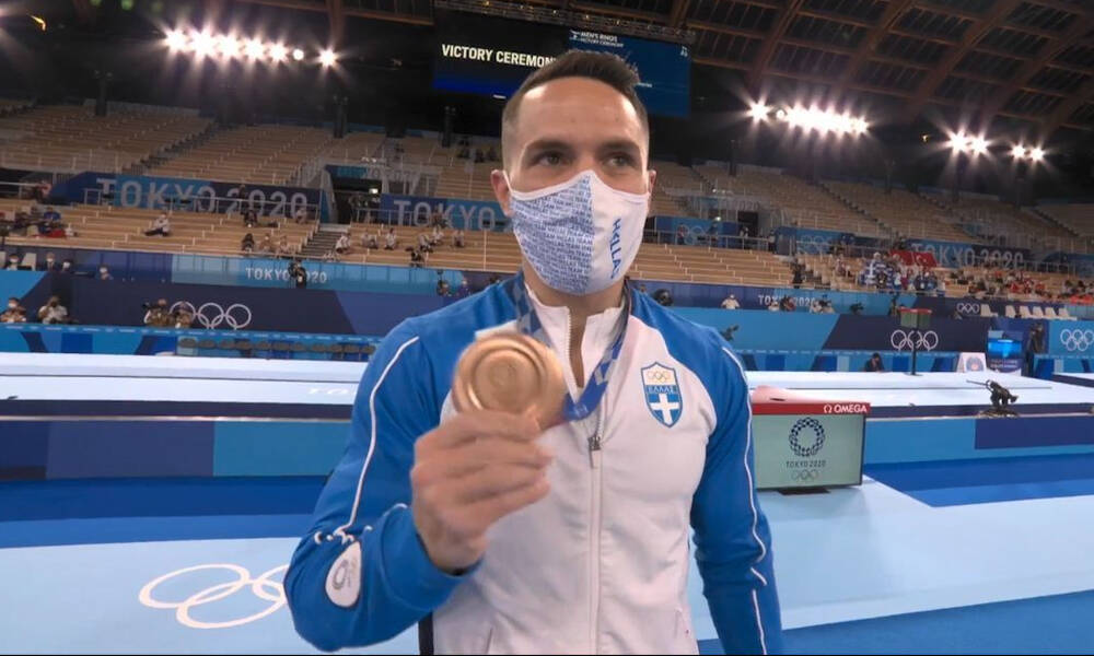 Ολυμπιακοί Αγώνες: Λευτέρης Πετρούνιας- Η απονομή στον «Άρχοντα των Κρίκων» (video)