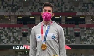 Ολυμπιακοί Αγώνες: Απονομή του χρυσού με συρτάκι για Τεντόγλου (videos)