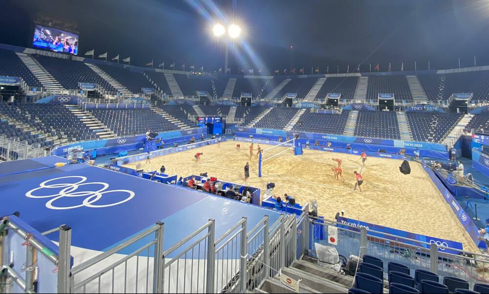 Ολυμπιακοί Αγώνες: «Καθαρές» νίκες στην φάση των «16» του Ολυμπιακού τουρνουά μπιτς βόλεϊ ανδρών