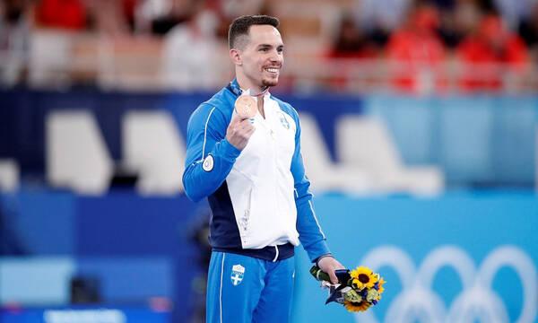 Ολυμπιακοί Αγώνες: Λευτέρης Πετρούνιας - Το πρώτο του μήνυμα μετά το χάλκινο (photos)