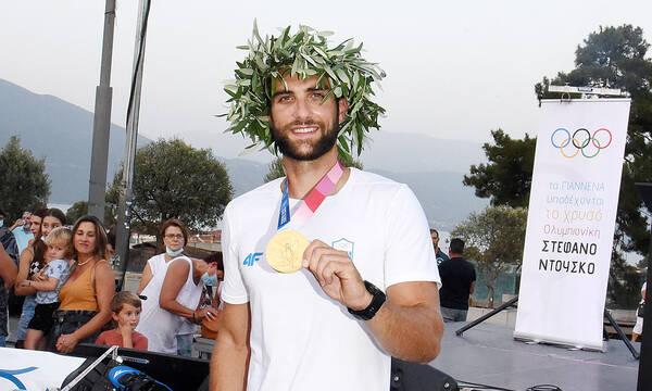 Ολυμπιακοί Αγώνες: Υποδοχή ήρωα στον Στέφανο Ντούσκο στα Γιάννενα (video)