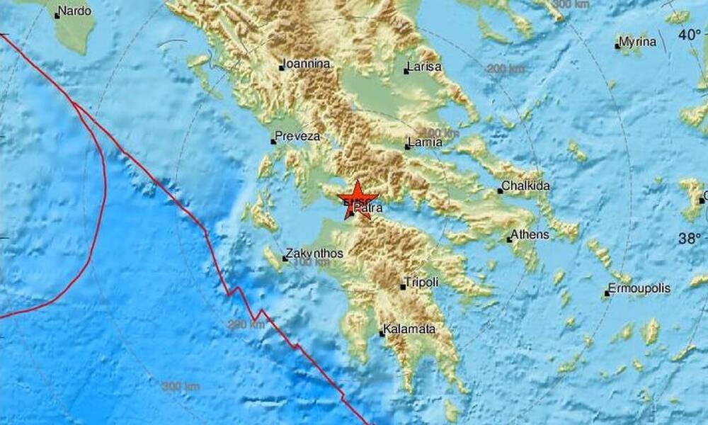 Σεισμός κοντά στη Ναύπακτο - Αισθητός και στην Πάτρα (pics)