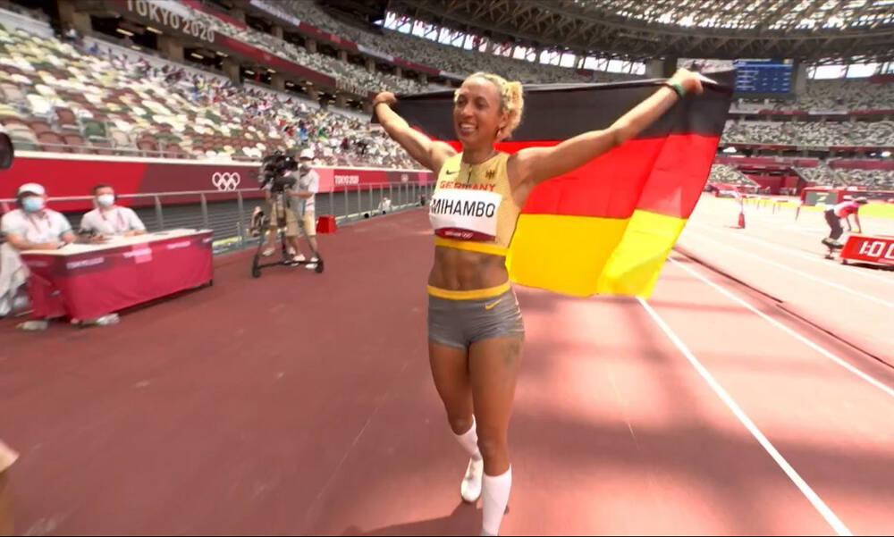 Ολυμπιακοί Αγώνες: «Χρυσή» η Μιχάμπο στο μήκος γυναικών (video)