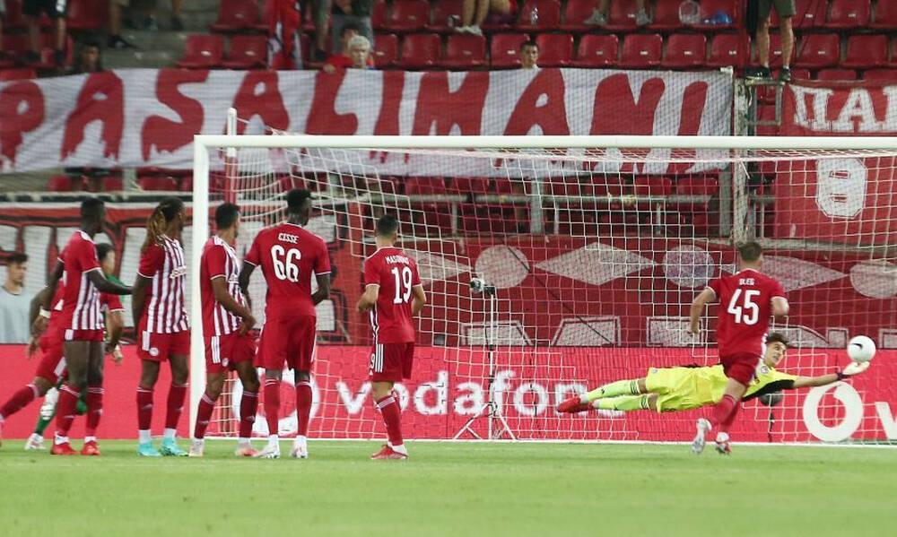 Ολυμπιακός-Λουντογκόρετς: Το 0-1 με εξαιρετική εκτέλεση φάουλ (video)