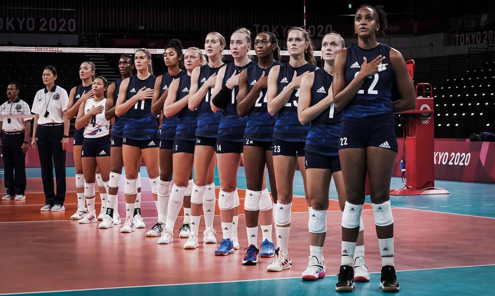 Ολυμπιακοί Αγώνες: Στο… ρελαντί οι ΗΠΑ στα ημιτελικά του Ολυμπιακού τουρνουά βόλεϊ γυναικών