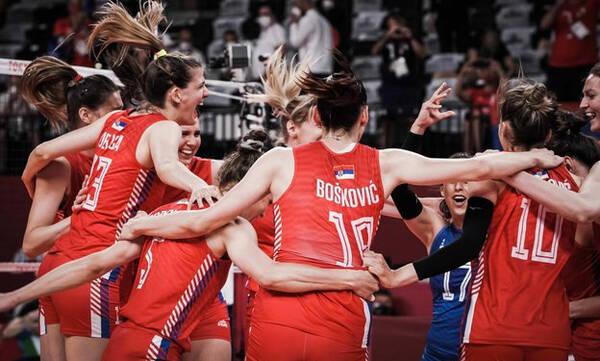 Ολυμπιακοί Αγώνες-Βόλεϊ Γυναικών: Με 24άρα Μπόσκοβιτς άνετη νίκη για Σερβία