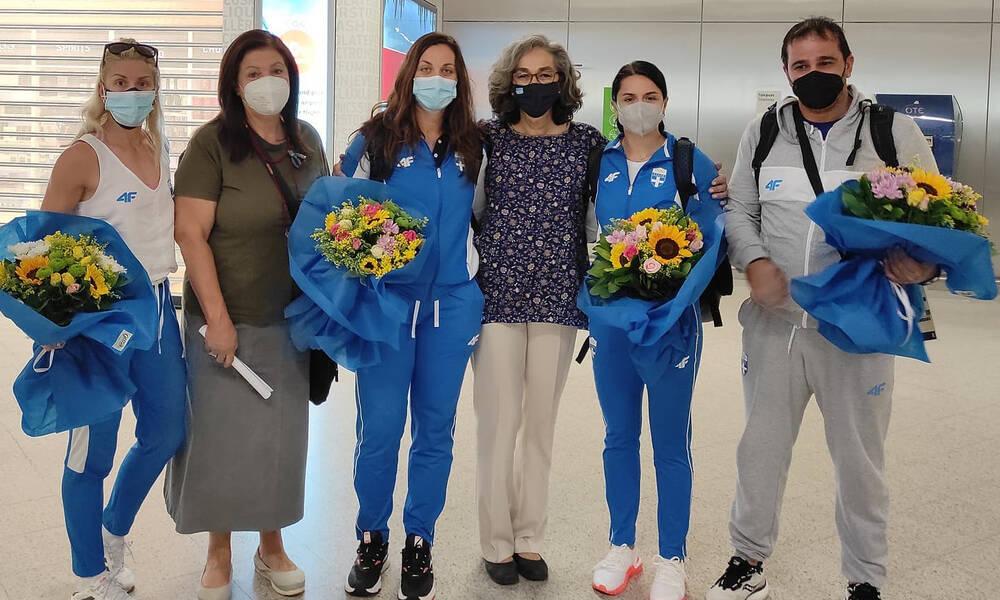 Ολυμπιακοί Αγώνες: Πάτησαν… Ελλάδα τα πρώτα μέλη της ελληνικής αποστολής στίβου (photos)