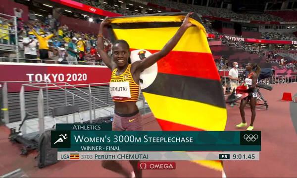 Ολυμπιακοί Αγώνες-3.000μ. στιπλ γυναικών: Το χρυσό η Τσεμουτάι (video)