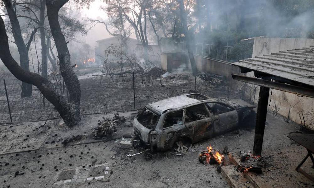 Φωτιά στη Βαρυμπόμπη: Σε κατάσταση εκτάκτου ανάγκης ο Δήμος Αχαρνών