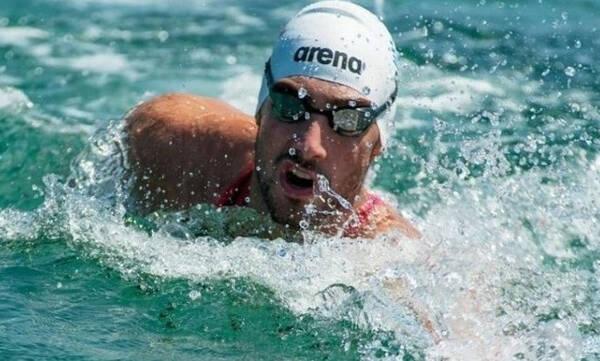 Ολυμπιακοί Αγώνες: Μεγάλη επίδοση ο Κυνηγάκης στα 10χλμ. ανοιχτής θαλάσσης
