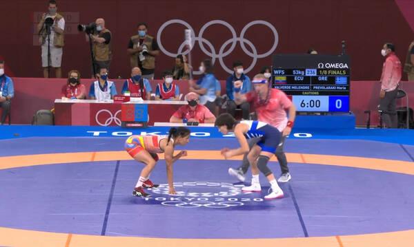 Ολυμπιακοί Αγώνες: Αποκλεισμός για Πρεβολαράκη στην πάλη (video)