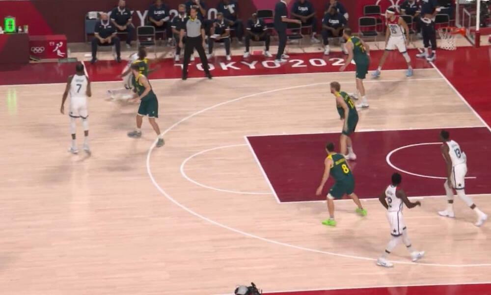 Ολυμπιακοί Αγώνες: Κινδύνεψε αλλά τελικά διέλυσε την Αυστραλία η Dream Team (videos)