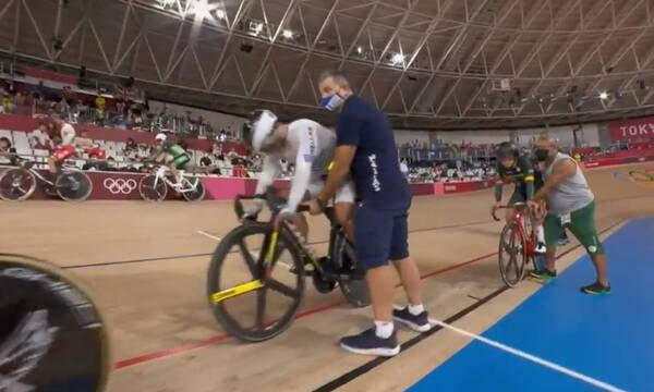 Ολυμπιακοί Αγώνες: Εγκατέλειψε ο Βολικάκης τον αγώνα πόντων (video)