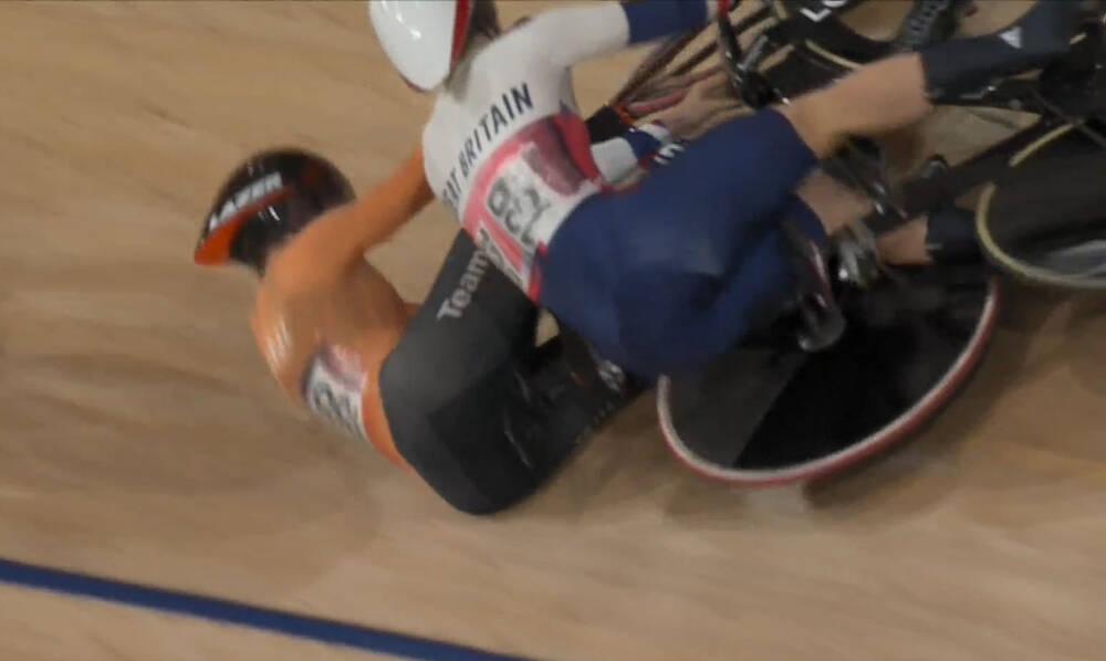 Ολυμπιακοί Αγώνες: Τρομερή σύγκρουση - Με φορείο έφυγε η Φαν Ρίσεν (video)