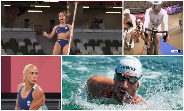 Ολυμπιακοί Αγώνες: Ο απολογισμός των Ελλήνων αθλητών την Πέμπτη (05/08) στο Τόκιο
