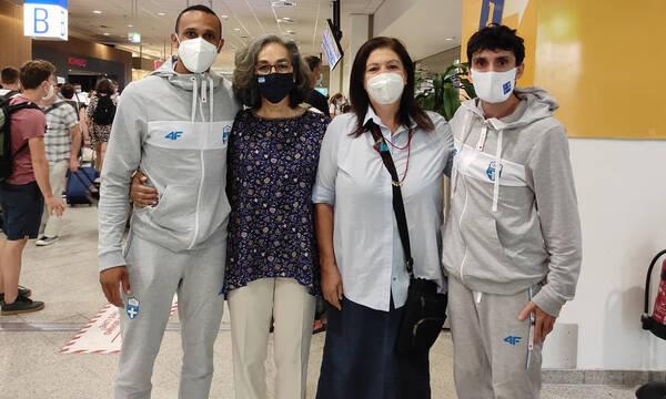 Ολυμπιακοί Αγώνες: Επέστρεψαν οι σφυροβόλοι μας από το Τόκιο (photos)