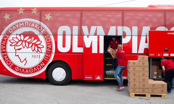 Ολυμπιακός: «Ερυθρόλευκη» στήριξη στους πυρόπληκτους