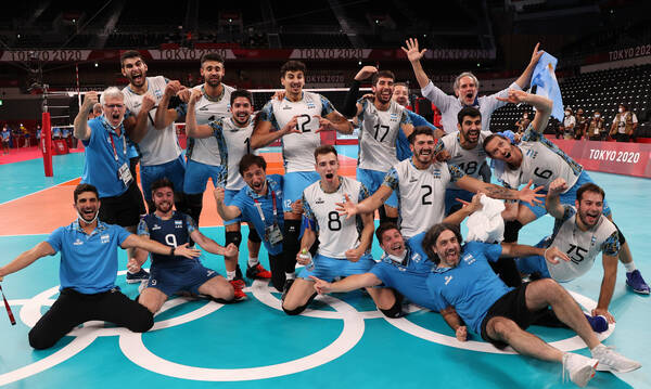 Ολυμπιακοί Αγώνες: «Χάλκινη» η Αργεντινή, «πέταξε» εκτός βάθρου τη Βραζιλία (video+photos)