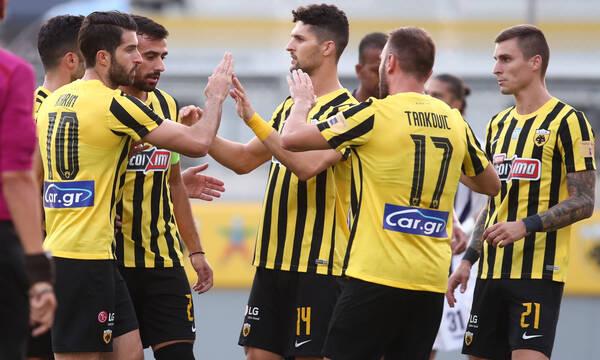 AEK-Απόλλων Σμύρνης 2-0: Νίκη με ντεμπούτο Χατζισαφί, Μισελέν