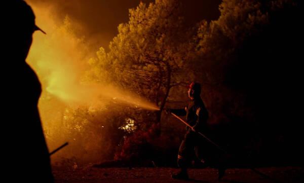 Φωτιά Αττική: Αγωνία για τις αναζωπυρώσεις - Περιπολίες στρατού και ΕΛ.ΑΣ. στα καμένα
