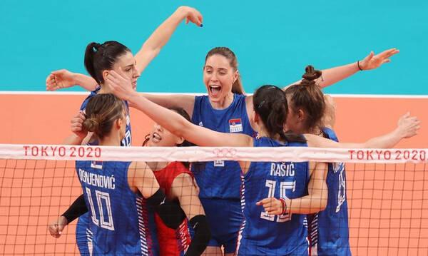 Ολυμπιακοί Αγώνες-Βόλεϊ Γυναικών: «Χάλκινη» η Σερβία δια χειρός Μπόσκοβιτς (photos+video)