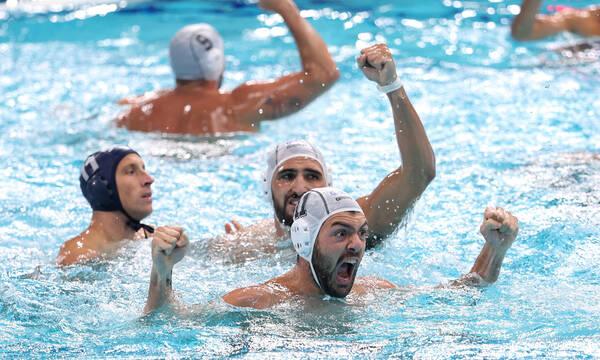 Ελλάδα-Σερβία 10-13: Μόνο υπερηφάνια για τους λεβέντες - «Ασημένιοι» Ολυμπιονίκες (photos+video)