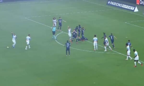 Πανικός στο Μαρσέιγ-Μπορντό με Καλού - Κατέρρευσε στο 5ο λεπτό του αγώνα (video)