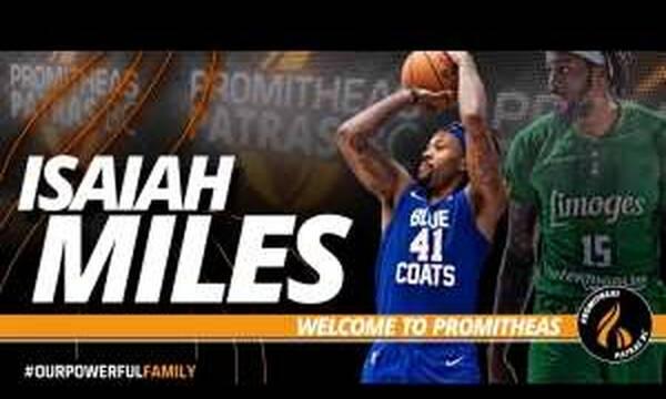 Επιβεβαίωση OnSports: Ο Προμηθέας ανακοίνωσε τον Μάιλς!