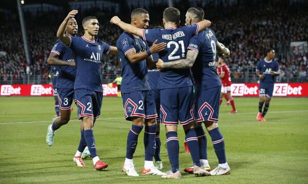 Ligue 1: Έκανε το 3Χ3 η Παρί περιμένοντας τον Μέσι! (Photos)