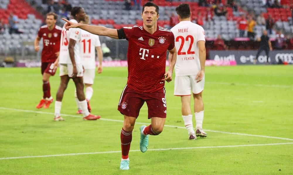 Bundesliga: Ρεκόρ Λεβαντόφσκι, τα… χρειάστηκε η Μπάγερν! (Videos+Photos)