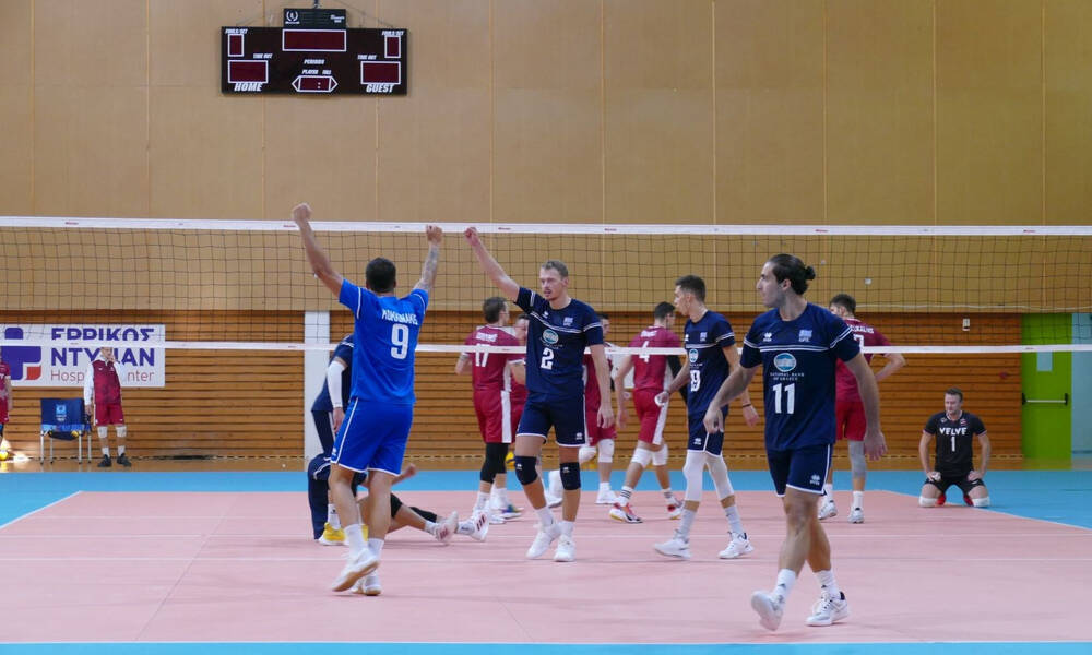 Βόλεϊ: Άνετη φιλική νίκη της Εθνικής επί της Λετονίας