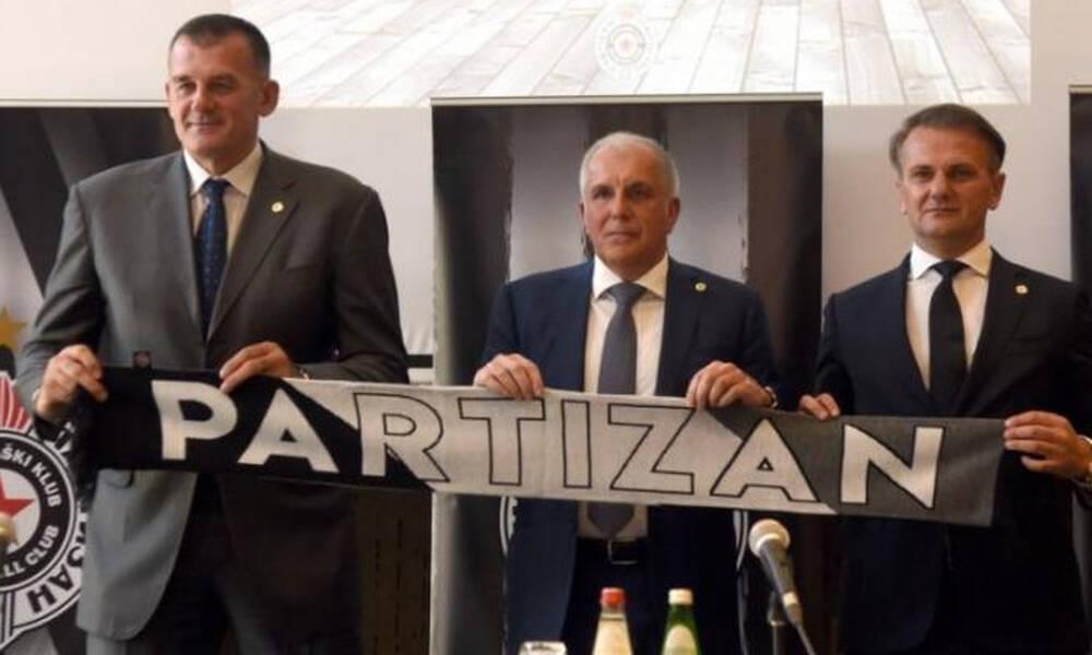 Μιχαΐλοβιτς: «Μαζί με τον Ομπράντοβιτς θέλουμε να επαναφέρουμε την Παρτιζάν στην κορυφή»