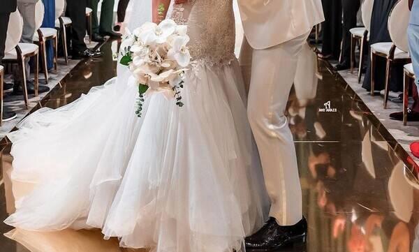 Λαμπερός γάμος για γνωστό αθλητή- Απίθανα πλάνα από την παραμυθένια δεξίωση (vid&pics)