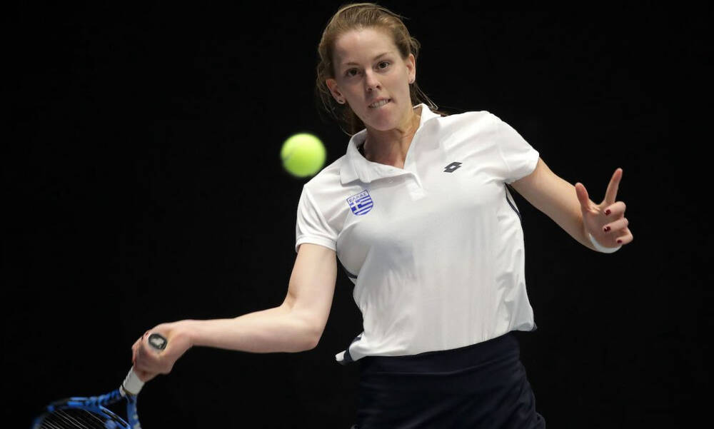 Τένις: Ντεμπούτο με νίκη για την Παπαμιχαήλ στο US Open