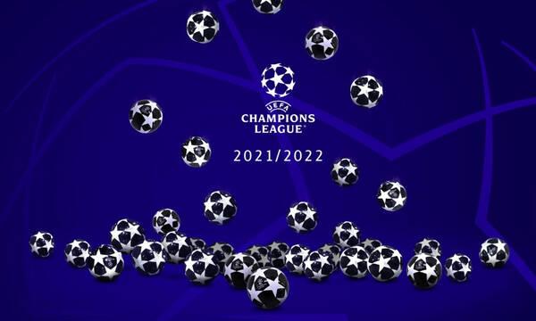 Champions League: Συμπληρώθηκε το παζλ των ομάδων στους ομίλους - Τα γκρουπ δυναμικότητας