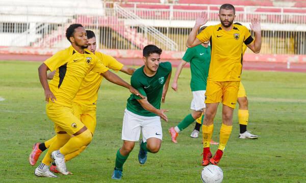 Ρόδος-ΑΕΚ Β 1-0: Ο Μαρσελίνιο έκρινε το φιλικό (photos+video)