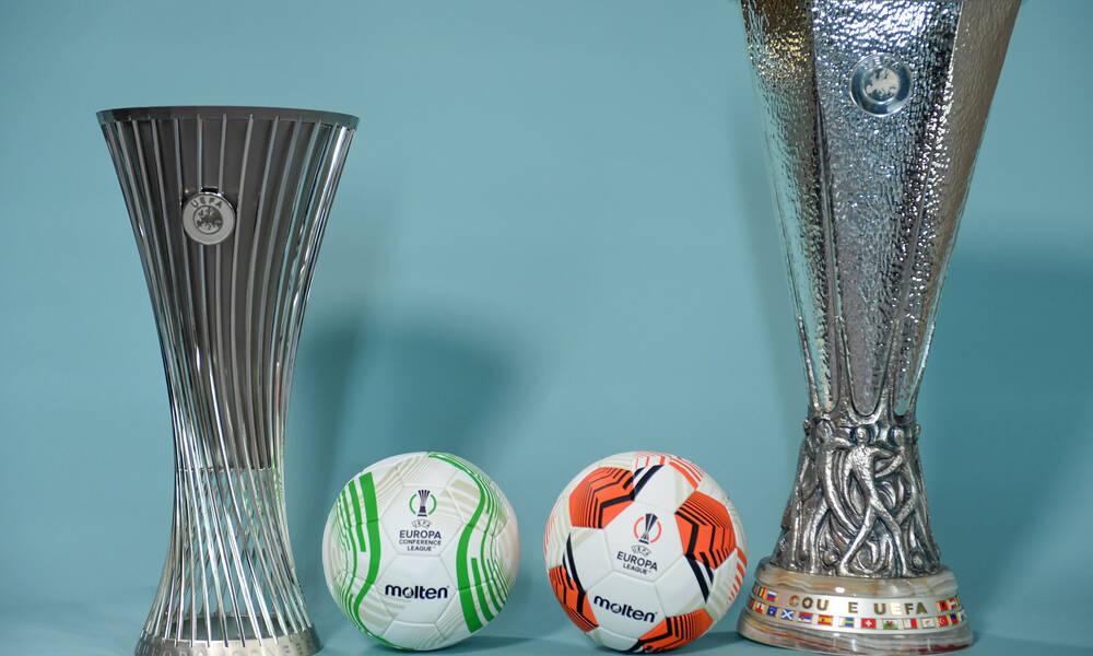 Ολυμπιακός-ΠΑΟΚ: Ειδική κλήρωση για τα ευρωπαϊκά τους παιχνίδια