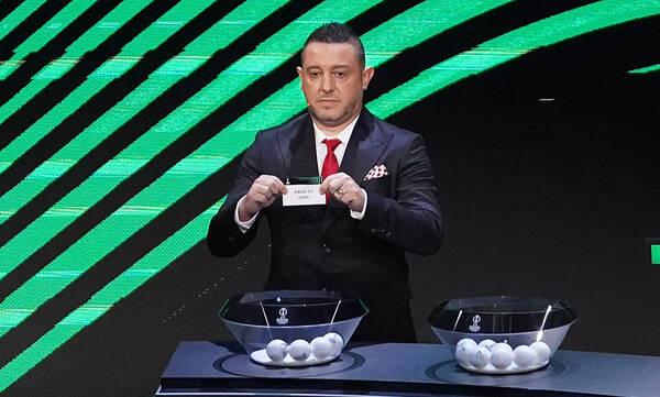 Conference League: Στα... μέτρα του ΠΑΟΚ η κλήρωση - Οι αντίπαλοι του